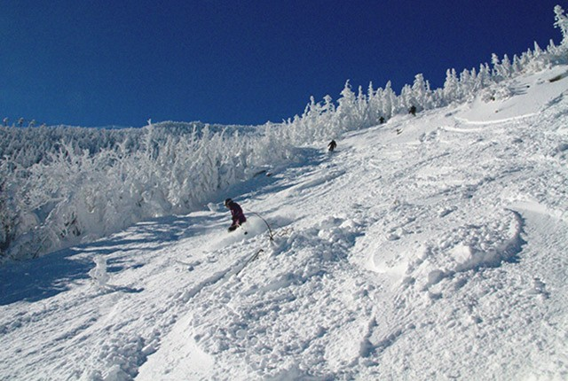 Which state has the most ski resorts, Whiteface Mountain.