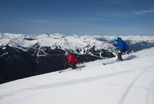 Where to ski in November, Whistler Blackcomb