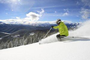 Early season skiing Keystone, CO resort