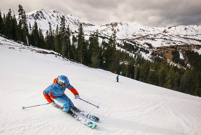 Where to ski in November, Loveland, CO.