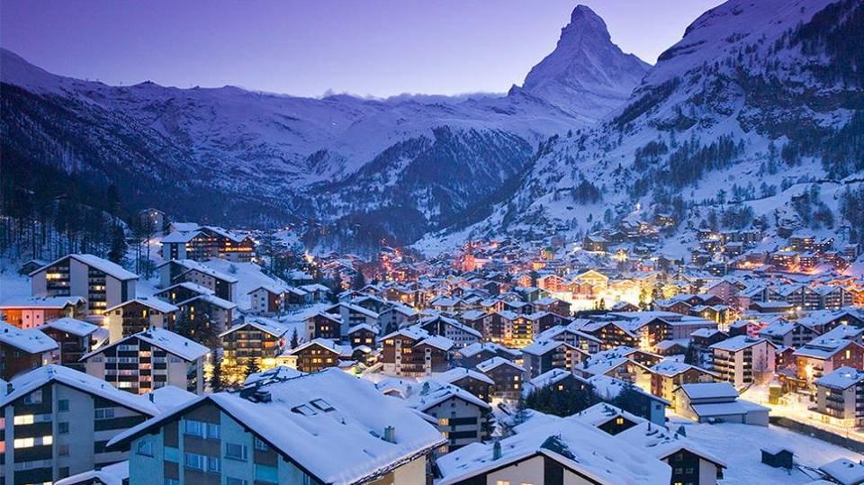 Zermatt spring