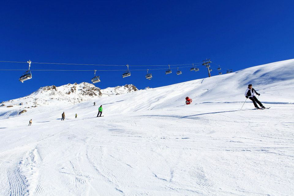 Obergurgl spring