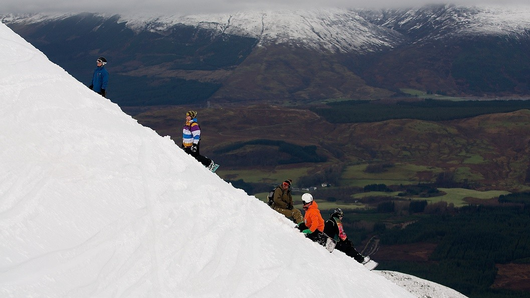 Powder in the Corries
