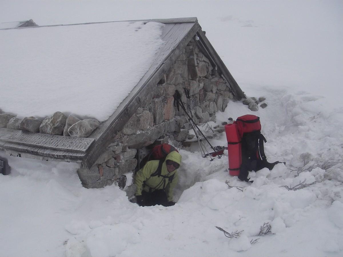 Mt. hut Corsica