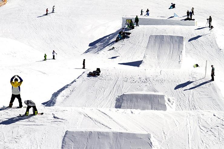 kicktrzone at Mayrhofen