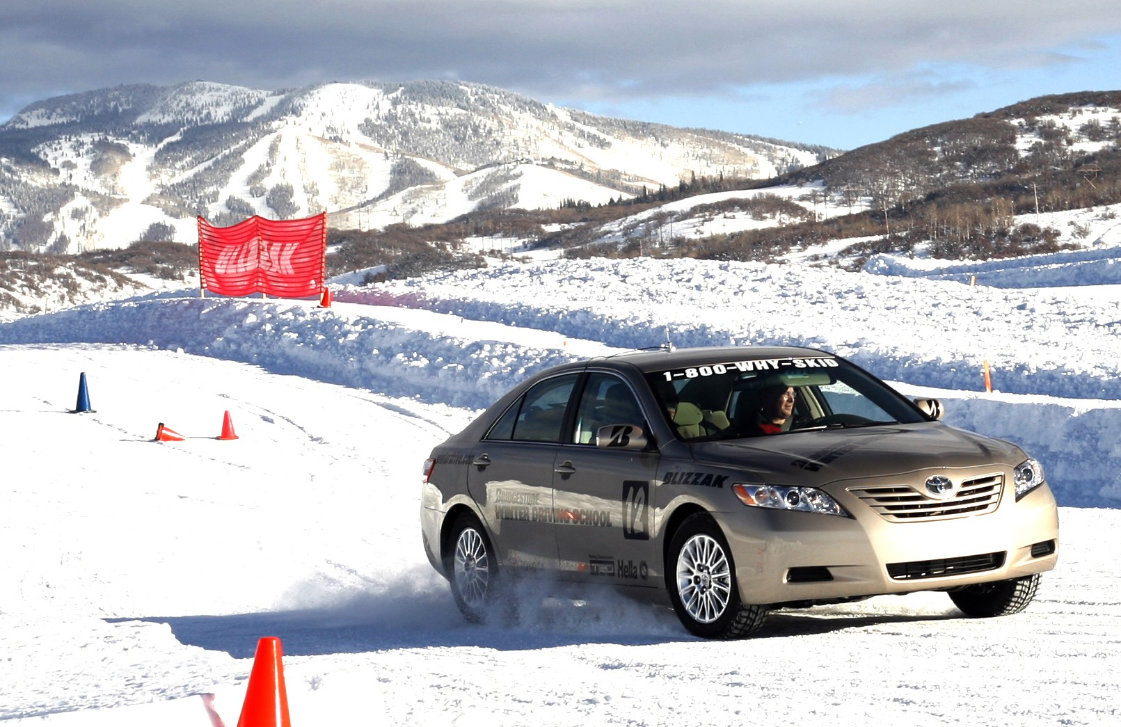 Driving school at Steamboat