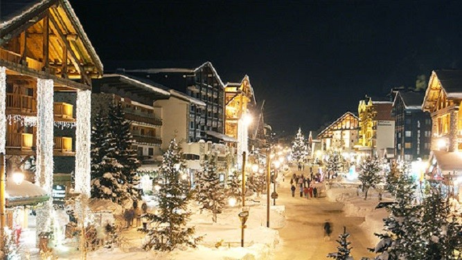 Christmas at Val d'Isere