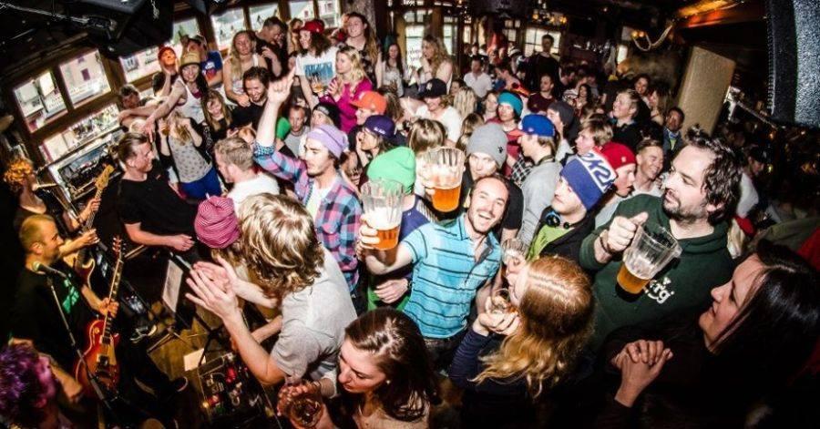 Chamonix party time