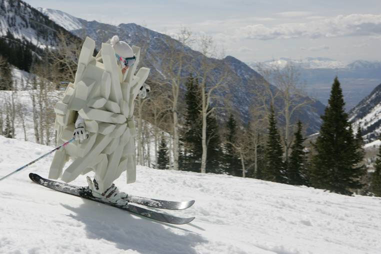 Utah's giant snowflake