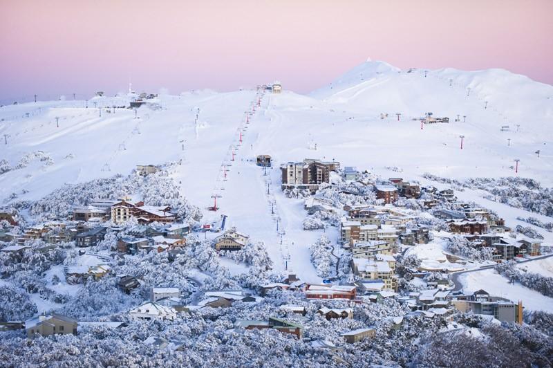 Skiing Mt. Buller