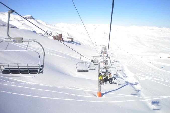 Valle Nevado, Chile