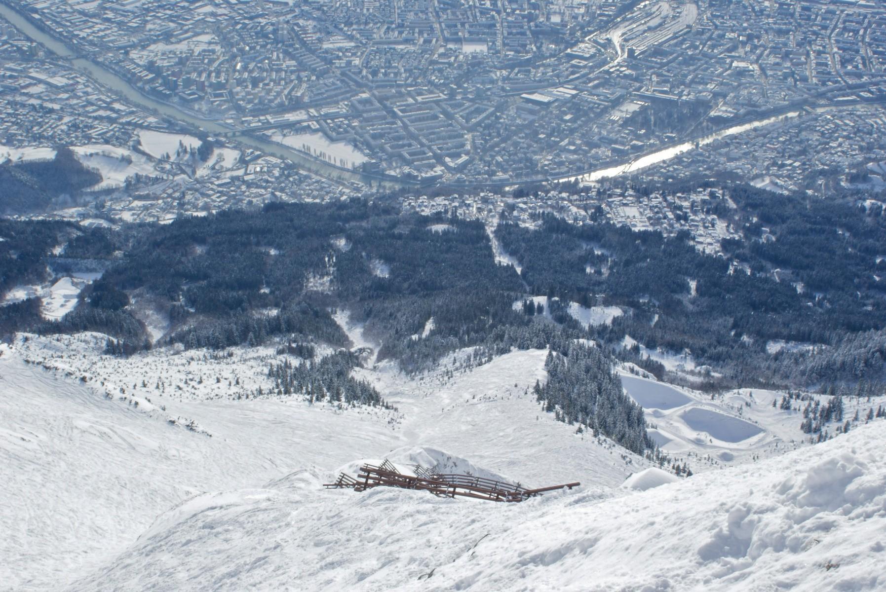 Innsbruck from bahn