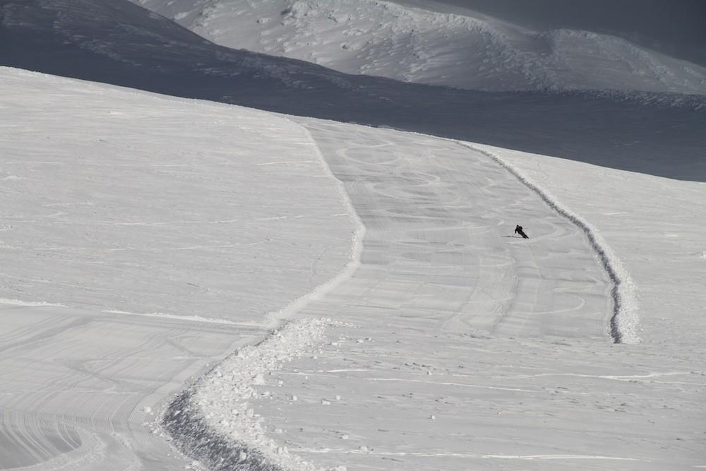 Palmer Snowfields at Mt. Hood