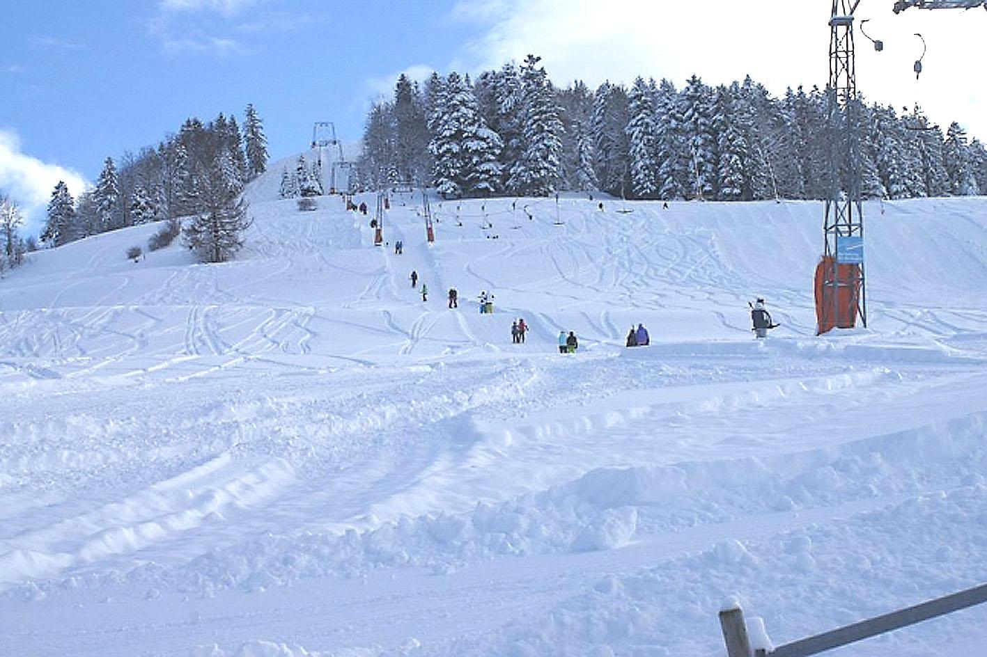 Ski close to Zurich