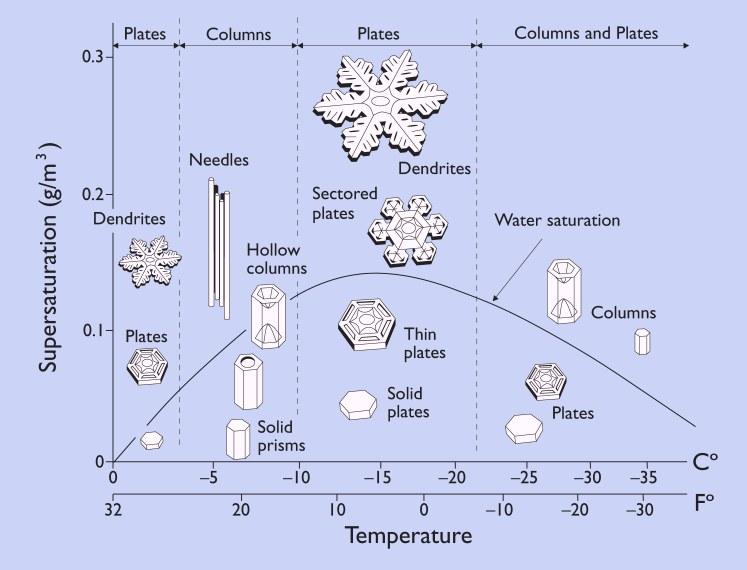 Perfect snowflake