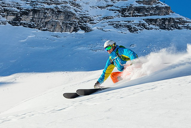 Tips up: expert advice buying skis, powder day.