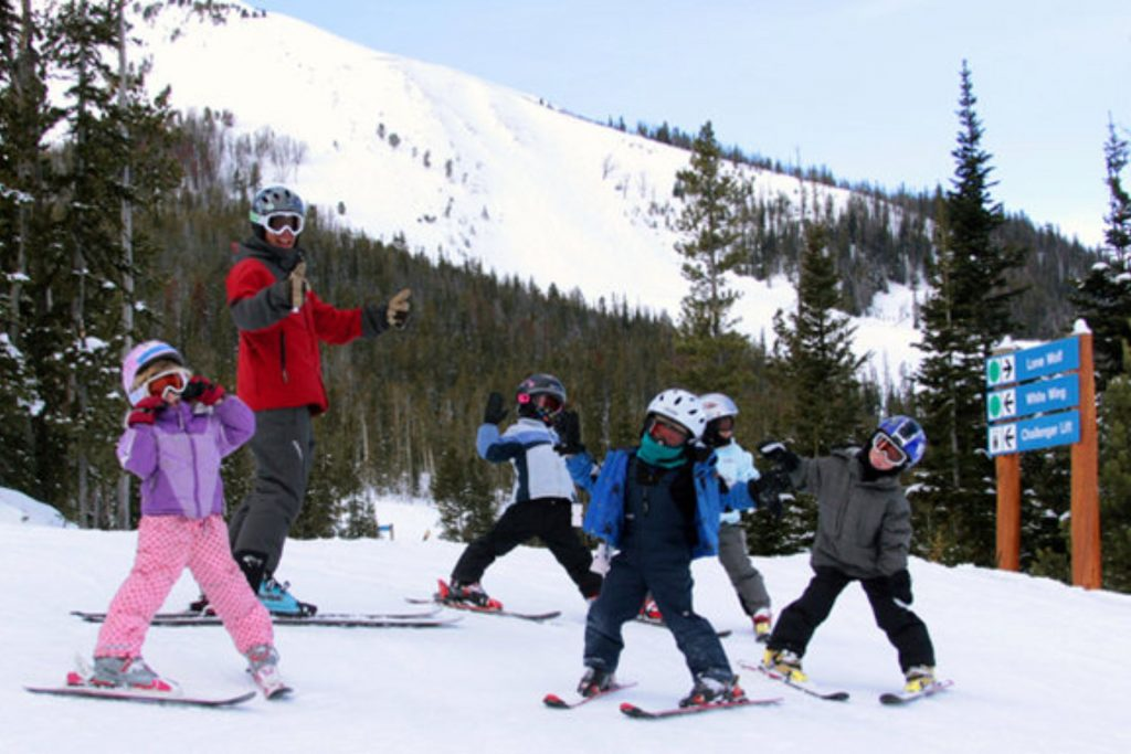 Big Sky offers kids camp lessons