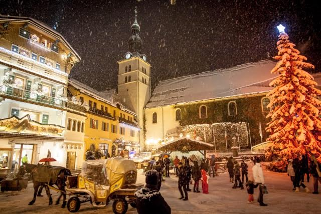 Megeve at Christmas
