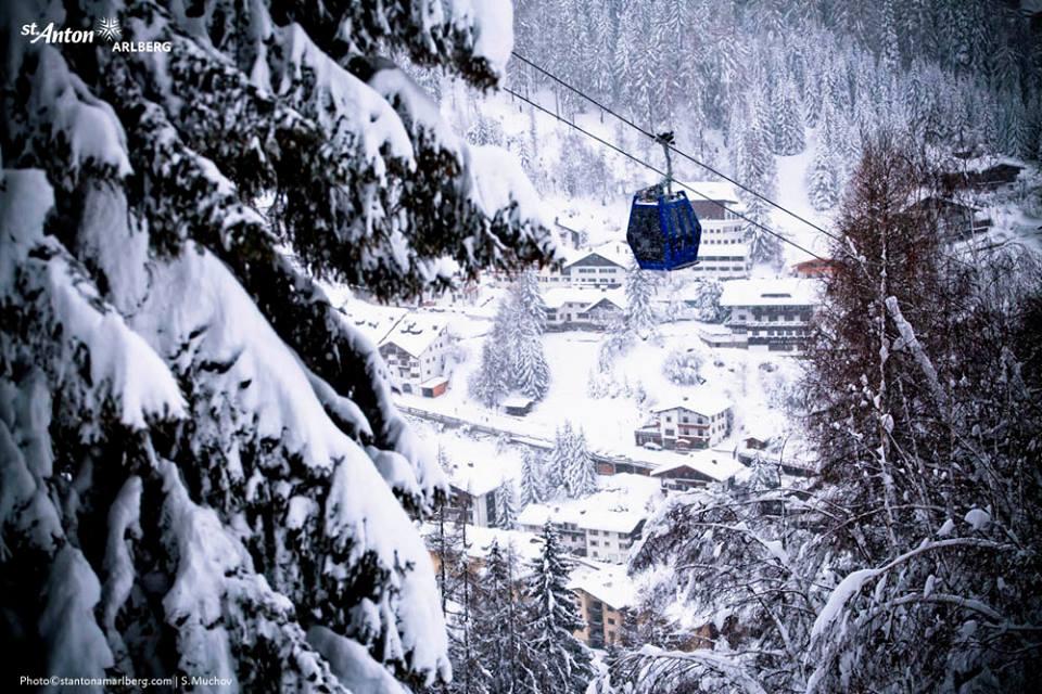 St.Anton by rail