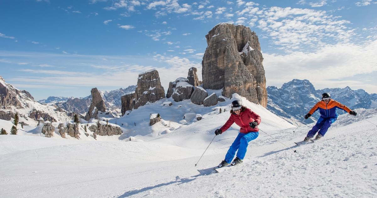 Cortina in Italy