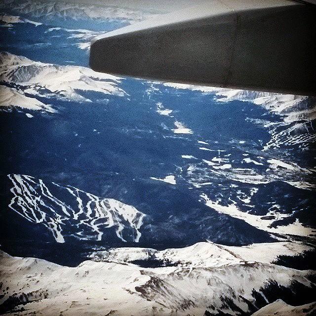 Flying over I-70