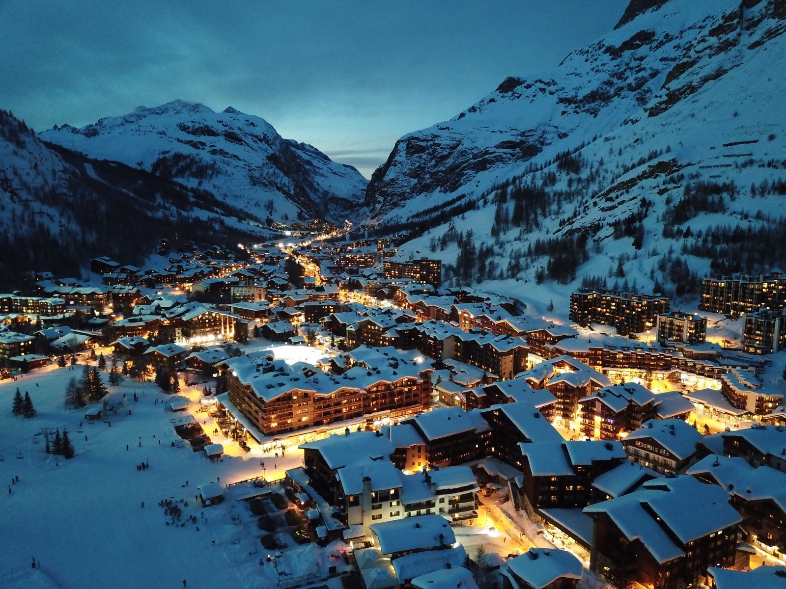 Val d'Isere carbon footprint