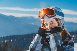 Covid winter girl mask