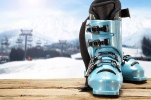 Ski boots buyer's gear blue