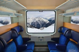 Opinion: How green can skiing be? Take the train