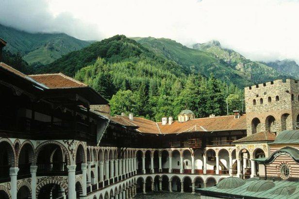 Rila Monastery makes for a great day trip from Bankso ski resort.