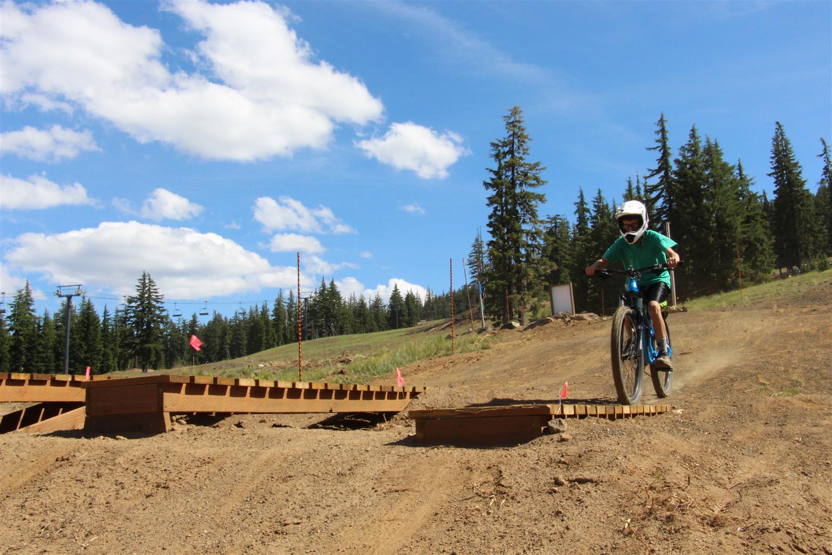 Mt. Bachelor biking