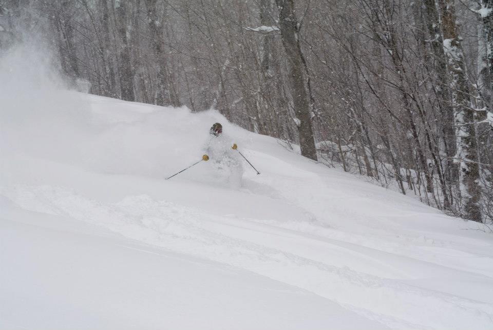 Mont Sutton snow