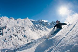 Mayrhofen is great for freeriding