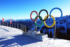 Olympic ski runs
