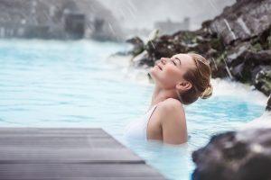 Europe spa outdoor hot tub ski resort