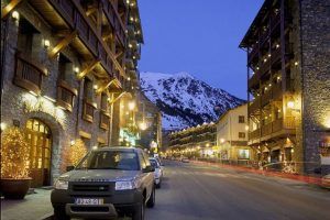 village in Grandvalira, Andorra