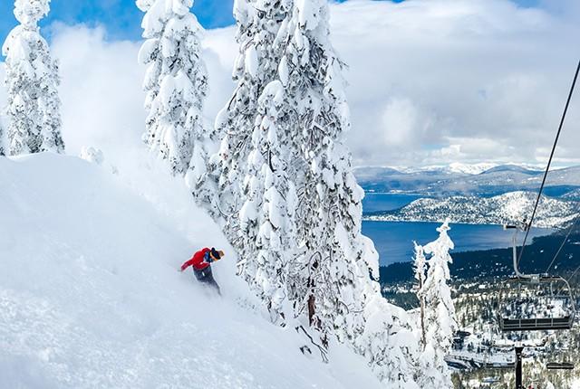 What's new in the west, Diamond Peak.